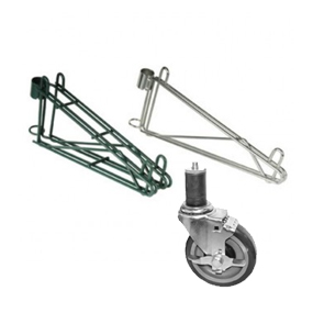 Shelving Casters and Accessories