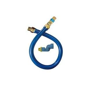 "Dormont 16100BPQS60 Gas Connector Hose, 60"" long"