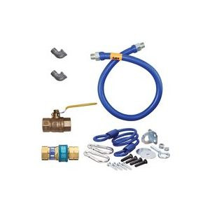"Dormont 1675KIT72 Gas Connector Kit, 72"" long"