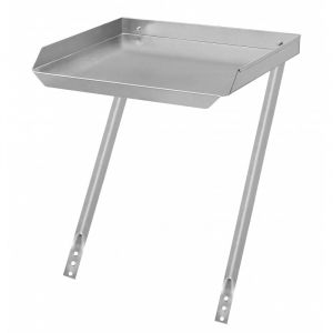 Klingers DB-2424 Drain Brd. 24x24 Universal Stainless Add-On Drainboard