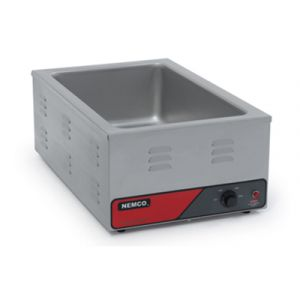 Nemco 6055A Food Warmer Bain Marie, Countertop, Electric 120v/60/1ph