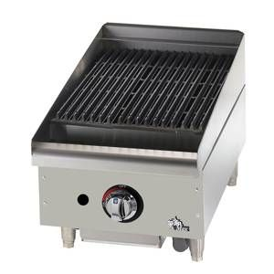 "Star 6115RCBF Star-Max 15"" Countertop Radiant Gas Charbroiler"