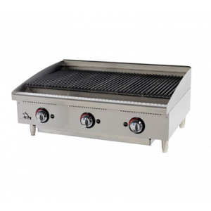 "Star 6136RCBF Star-Max 36"" Countertop Radiant Gas Charbroiler"