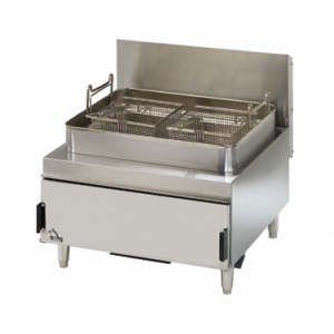 Star 630FF Heavy Duty Countertop Gas Fryer w/ Twin Baskets & 30 lb. Fat Capacity - NG