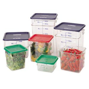 Cambro 18SFSCW135 18-qt CamSquare Food Container, 6QT