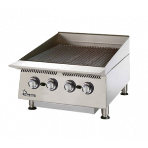 "Star 8124RCBB Ultra-Max 24"" Countertop Radiant Gas Charbroiler"