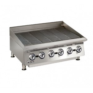 "Star 8136RCBB Ultra-Max 36"" Countertop Radiant Gas Charbroiler"