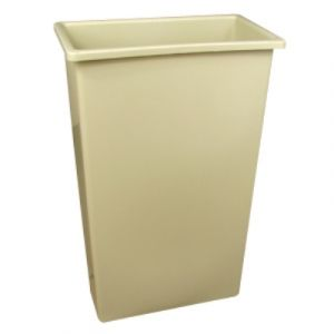 Continental Commercial 8322BE, Indoor, Beige, Trash Can