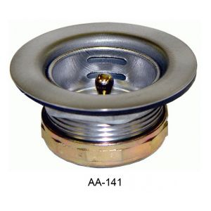 "GSW AA-141 Mini-Basket Strainer, 1-7/8"" sink opening"