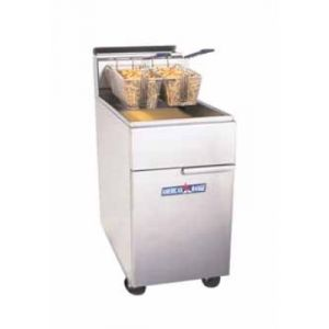 American Range AF75 65-75 lb Capacity Fryer, Floor Model, Thermostatic Controls