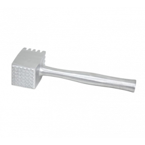"Winco AMT-4 2-Sided Heavy Meat Tenderizer, 4-1/4"" x 2-3/4"" Square Head - Heavy Aluminum"