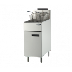 Atosa ATFS-50 CookRite Fryer, 50lb., Floor Model, Natural Gas