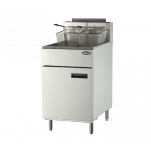 Atosa ATFS-75 CookRite Fryer, 75lb., Floor Model, Natural Gas