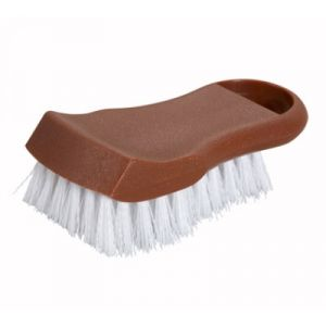 Winco CBR-BN Cutting Board Brush - Brown