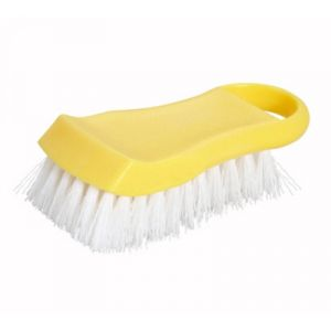 Winco CBR-YL Cutting Board Brush - Yellow