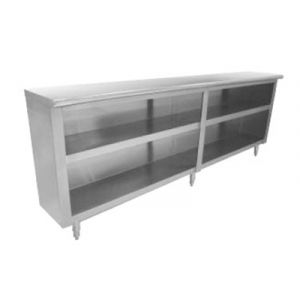 "Advance Tabco DC-1510 Advance Tabco Dish Cabinets, 120"" long"