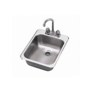 "Klingers DHS-1000 Hand Drop-In Sink, one compartment, 10"" wide x 14"""