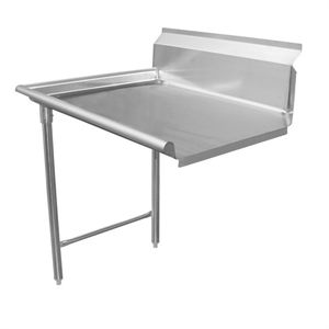"GSW DT60C-L Dishtable, straight design, right-to left operation, 60""W x 30""D x 34""H"