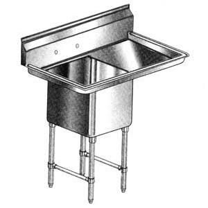 Klingers EIT-1-DL24 Sink, one (1) compartment