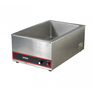 "Winco FW-S500 Countertop Electric Food Warmer, 20"" x 12"" - 120V"