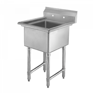 "Klingers HDS-1-1818 Sink, one compartment, 23-1/2""W x 23-1/2""D"