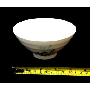 "Japanese White Soup or Rice Bamboo Bowl, 4.8""(W) HMJ-915BAM"