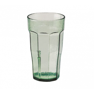 Cambro LT12427 Laguna 12 Oz. Fluted Tumbler, 36/Case - Spanish Green