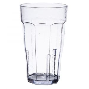 Cambro LT12152 Laguna 12 Oz. Fluted Tumbler, 36/Case - Clear