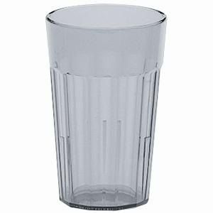 Cambro NT20152 Newport 22 Oz. Fluted Tumbler, 36/Case - Clear