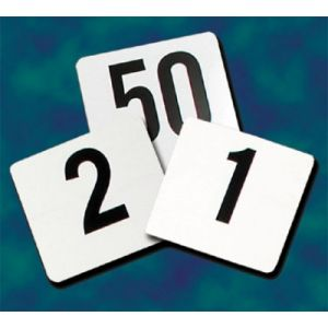 Update PTN4 /1-25 Table Numbers Cards (PACK)
