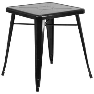23.75'' Square Metal Indoor-Outdoor Table