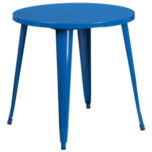 30'' Round Metal Indoor-Outdoor Table