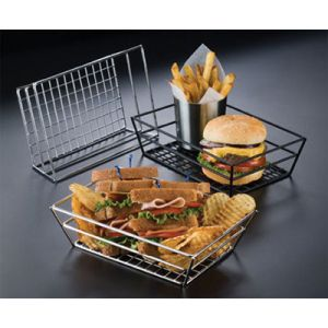 American Metalcraft RMB95B Basket, Tabletop grid bottom