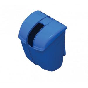 San Jamar SI2000 Scoop Caddy Guardian, HDPE plastic, blue