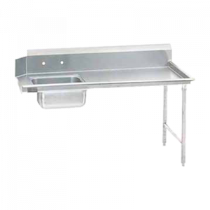 "Klingers SDT-60R Dishtable right-to-left operation, 60""W x 30""D"