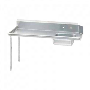 "Klingers SDT-72L Dishtable left-to-right operation, 72""W x 30""D"