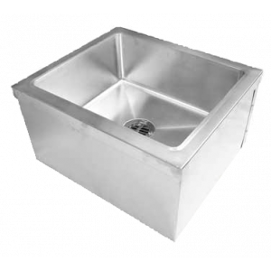 GSW SE2424FM Mop Sink, Stainless steel construction