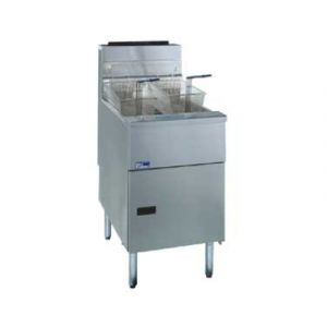 Pitco SG18S  Floor Model Commercial Fryer, Full Pot