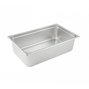 "Winco SPJL-106 Steam Table Pan, Full Size, 6"" Deep - Stainless Steel"