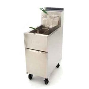 Dean SR42 Floor Model Commercial Fryers, 43-lb oil capacity
