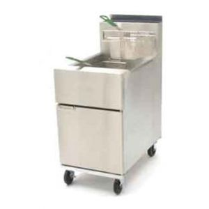 Dean SR62 Floor Model Commercial Fryer, 75-lb oil capacity