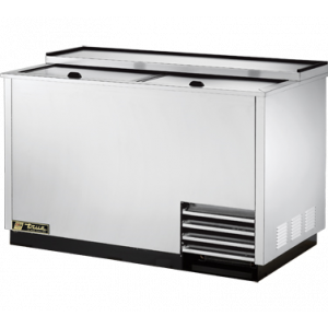 True T-50-GC-S Glass & Plate Chiller, Stainless Steel