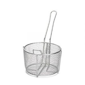 Tablecraft 987 Stainless Steel Cooking Basket (PAIR)