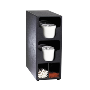 Dispense Rite TLO-2BT Lid & Straw Organizer, 2 section