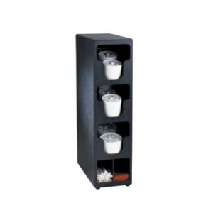 Dispense Rite TLO-3BT Lid Dispenser, Countertop  3 section