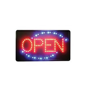 Winco LED-6 LED Open Sign w/ Single Flashing Pattern